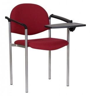 Tapicerowane krzesło biurowe z pulpitem Styl PD