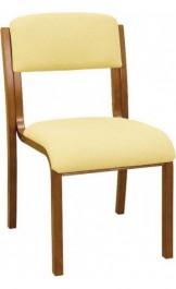Drewniane krzesło konferencyjne Witt