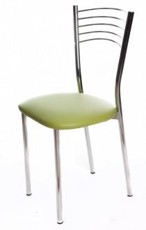 Krzesło z tapicerowanym siedziskiem Daniela