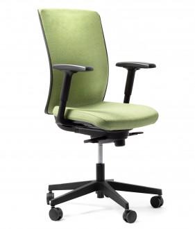 Krzesło biurowe z regulacją lędźwiową Simple Soft