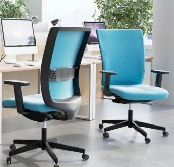 Krzesło biurowe z regulacją lędźwiową Simple UPH