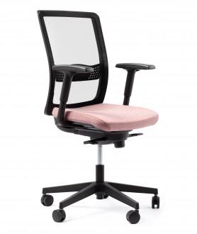 Krzesło biurowe z regulacją lędźwiową Simple NET