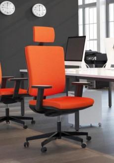 Obrotowe krzesło biurowe z regulacjami Mike