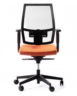 Regulowane krzesło do biura Foxtrot NET