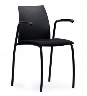Krzesło konferencyjne z podłokietnikami Tango S44