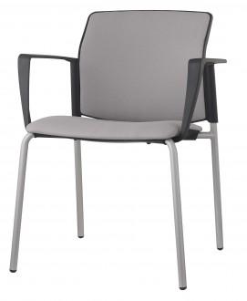 Krzesło konferencyjne tapicerowane 4job SOFT S40