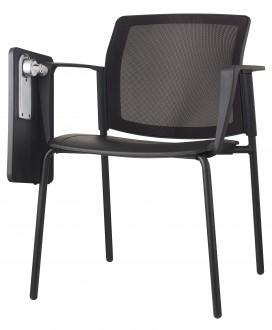 Krzesło konferencyjne z oparciem z siatki 4job NET S40