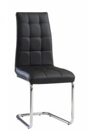 Pikowane krzesło z ekoskóry Lagone