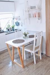 Nowoczesny stół do jadalni ST-V w stylu skandynawskim