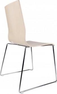 Krzesło na płozach Zoe 1 Wood