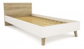 Łóżko do sypialni Molde 90 w stylu skandynawskim