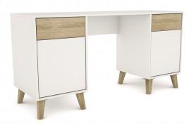 Nowoczesne biurko Molde w stylu skandynawskim
