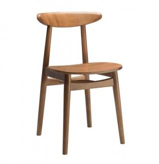 Drewniane krzesło jadalniane Essai