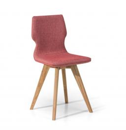 Tapicerowane krzesło do jadalni Ferro