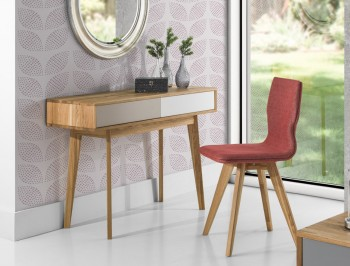 Konsola drewniana w stylu skandynawskim Stilo
