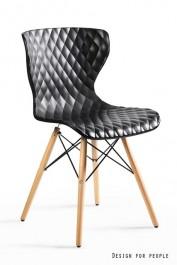Krzesło na drewnianych nogach Open