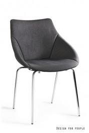 Tapicerowane krzesło do jadalni Lumi