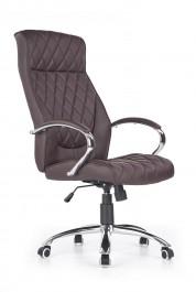 Pikowany fotel gabinetowy z ekoskóry Hilton