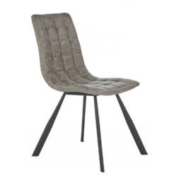Pikowane krzesło z ekoskóry K-280