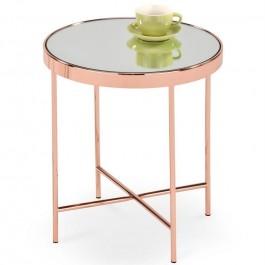 Stolik kawowy z lustrzanym blatem Mira