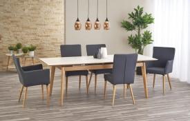 Rozkładany stół z ceramicznym blatem Montreal