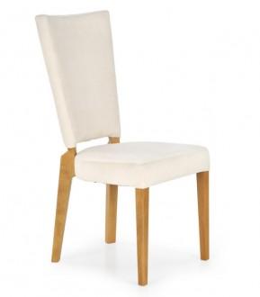 Tapicerowane krzesło na bukowych nogach Rois