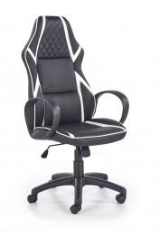 Obrotowy fotel z ekoskóry Dodger