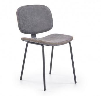 Krzesło z ekoskóry bez podłokietników K278