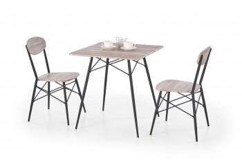 Zestaw mebli do jadalni stół i 2 krzesła Kabir