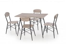 Zestaw mebli do jadalni stół i 4 krzesła Kabir