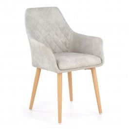 Pikowane krzesło z ekoskóry K-287