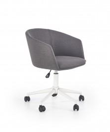 Tapicerowane krzesło obrotowe do gabinetu Riso