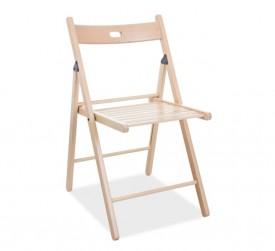 Drewniane krzesło składane Smart II