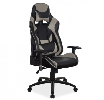 Fotel biurowy z regulowanymi podłokietnikami Supra