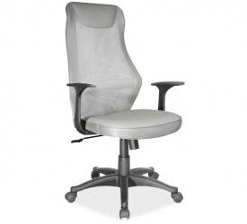 Obrotowy fotel biurowy z tkaniny membranowej Q-170