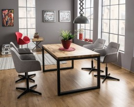 Stół w stylu industrialnym Loras II 120/80