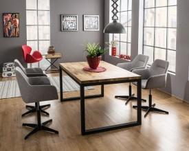 Stół w stylu industrialnym Loras II 150/90