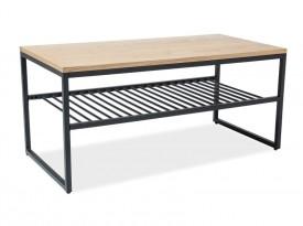 Nowoczesny stolik z półką Penta
