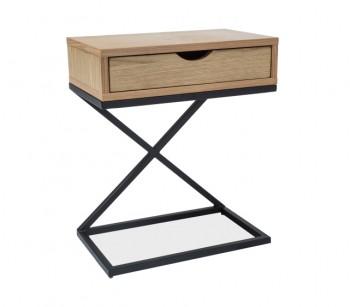 Nowoczesny stolik z szufladą Liz I