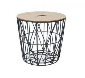 Designerski stolik ze zdejmowanym blatem Hera
