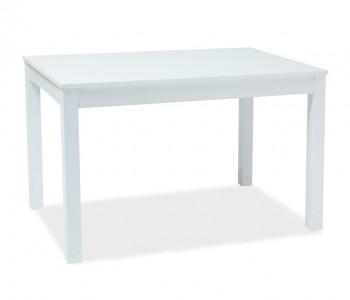 Rozkładany stół do jadalni Prism biały