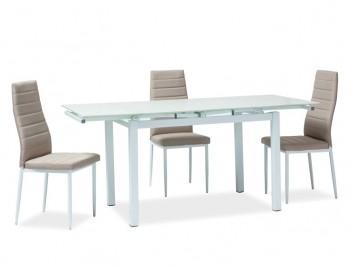 Rozkładany stół z blatem w imitacji kamienia Turin