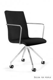 Tapicerowane krzesło do biura Visitor