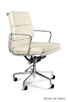 Skórzane krzesło do gabinetu Wye Low HL