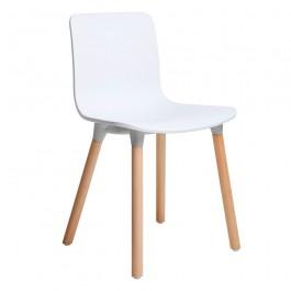 Krzesło na drewnianych nogach Holy Wood