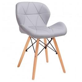 Krzesło tapicerowane ekoskórą Klipp
