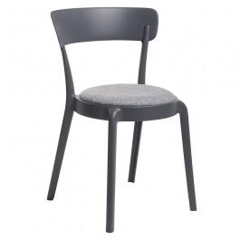 Krzesło z poduszką na siedzisku Fluffi