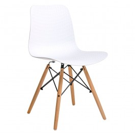 Krzesło na drewnianych nogach Krado Wood