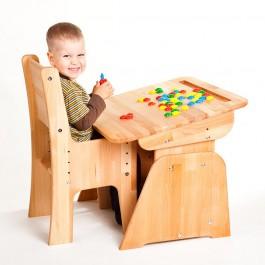 Regulowane biurko dziecięce Ecodesk B-170