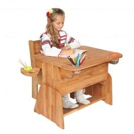 Regulowane biurko dla dzieci Ecodesk E-170